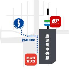 駅から5分 にいむら病院の地図